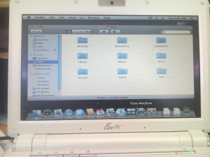 OS X on a Eee PC 901